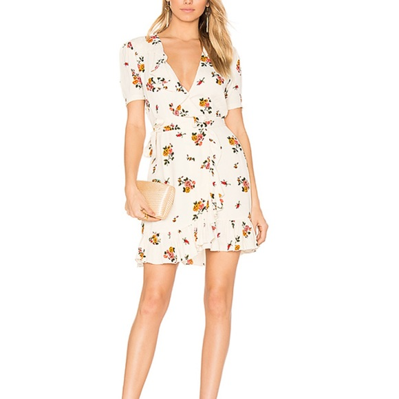 Privacy Please Dresses & Skirts - Privacy Please June floral dress in Cream XS